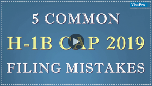 How To Overcome The 2018 H1B Cap Filing Mistakes.