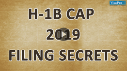 Learn All About USCIS H1B Cap 2019 filing secrets.