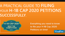 Ebook: Filing H1B Cap 2020 Petition