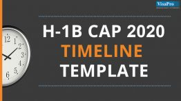 Download H1B Visa 2020 Timeline Templates