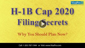 Learn All About 2020 H1B Cap Filing Secrets.