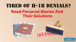 Find Out How To Overcome The Challenges For H1B Denials