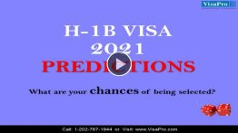 Learn All About H1B Visa 2021 Predictions.