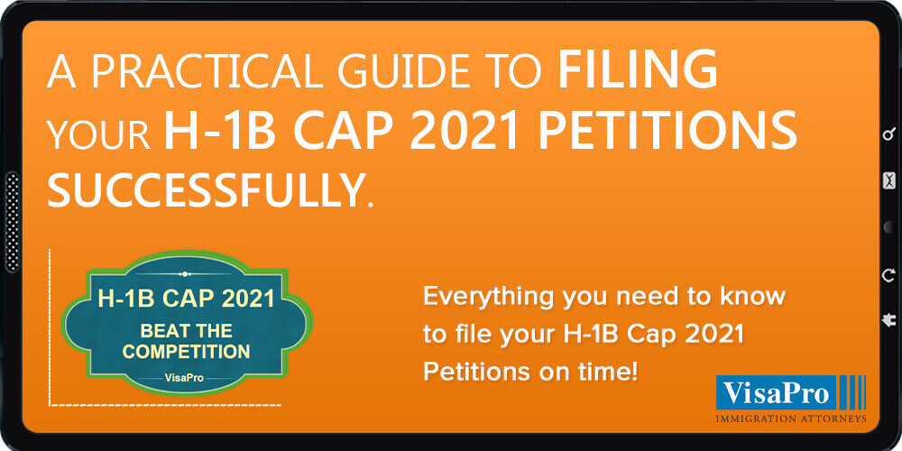 Ebook: Filing H1B Cap 2021 Petition