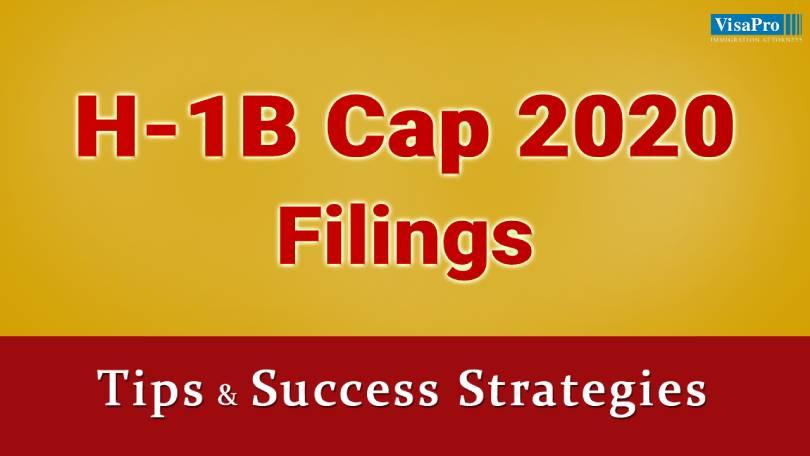 Tips To File H1B Visa Cap 2020 Successfully.
