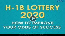 Know About H1B Visa 2020 Lottery Status.