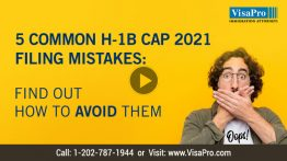 How To Overcome The 2020 H1B Cap Filing Mistakes.