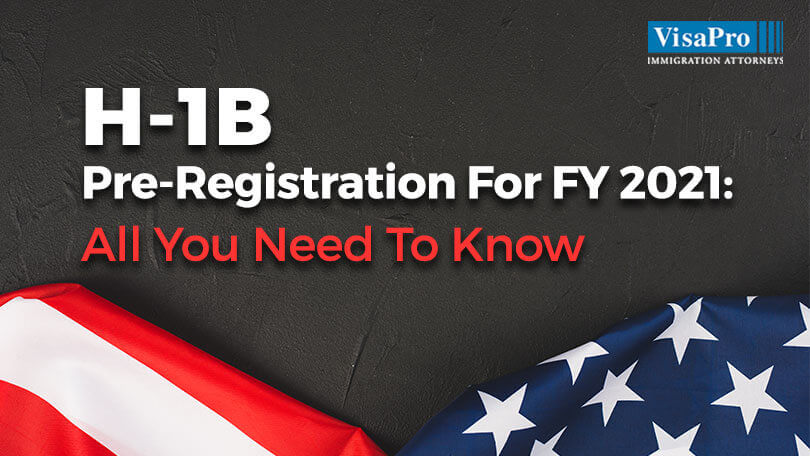 H1B Online Registration For FY 2021