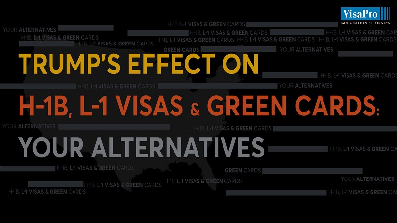 Trump's Proclamation Effect on H-1B, L-1 Visas & Green Cards