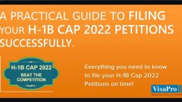 Ebook: Filing H1B Cap 2021 Petition