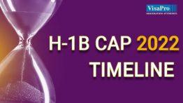 H1B Cap 2022 Filing Timeline