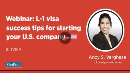 L-1 Visa Success Tips For Starting Your U.S. Company