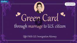 Green Card Through Marriage To U.S. Citizen