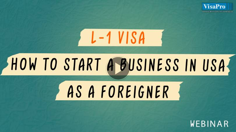 L-1 Success Strategies To Start, Manage And Grow Your Business In USA